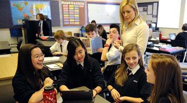 加拿大高中需要具备录取的条件杭州2014留学高中图片