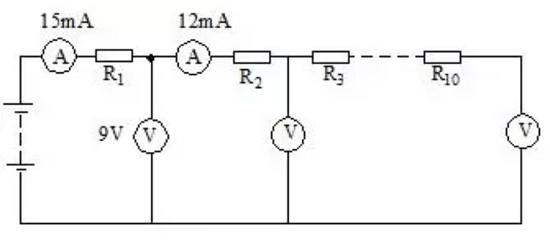 两灯并联电路图示