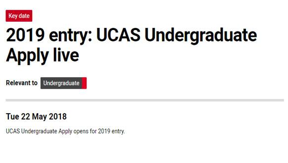 已有英国大学开放2019年入学申