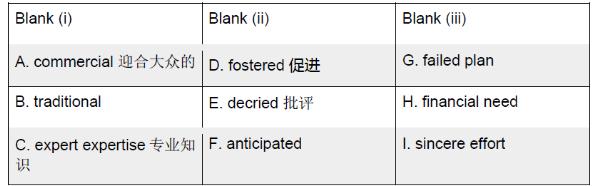 GRE填空解读:GRE单词的深刻理解(二)