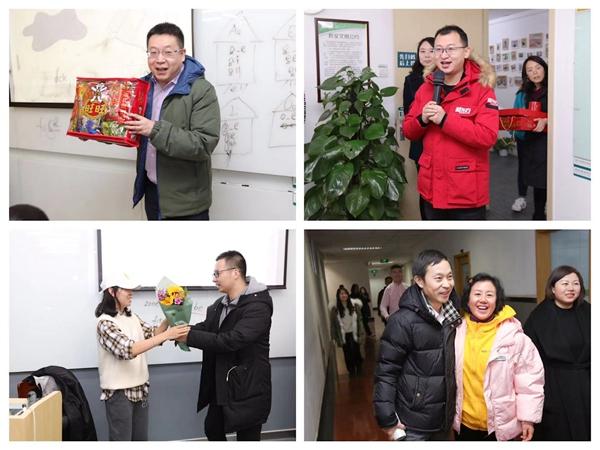 慰问团成员新春送祝福