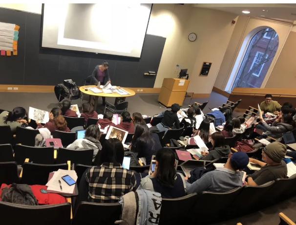 袁宝玉在哈佛交流学习
