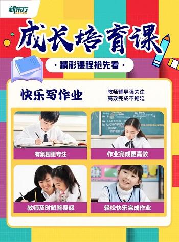 北京新东方成长培育课